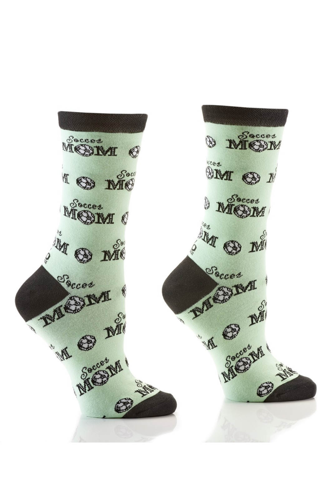Giftcraft Inc.  Women's Graphic Crew Sock - Front Cropped Image