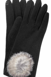 GLOVES INTERNATIONAL Women's Self Lined Fashion Fleece Gloves with touch screen technology - Product Mini Image