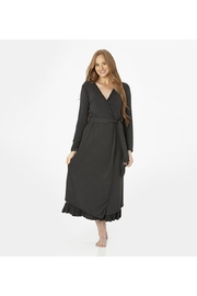 Kickee Pants Women's Solid Basic Robe - Product Mini Image