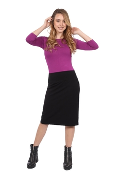 Kosher Casual Women's Stretch Pencil Skirt - Product List Image