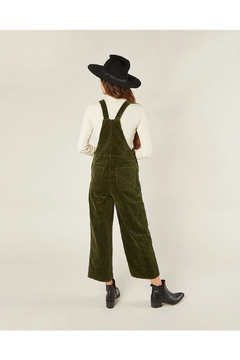 Rylee and Cru Women's Wide Leg Overall - Forest - Alternate List Image