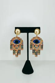 ADRIANA JEWERLY Wonder Eyes Earrings - Product Mini Image