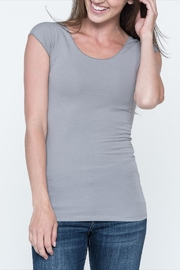 Downeast Basics Wonder Tee Dove-Grey - Product Mini Image