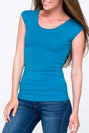 Downeast Basics Wonder Tee Ocean-Blue - Product Mini Image