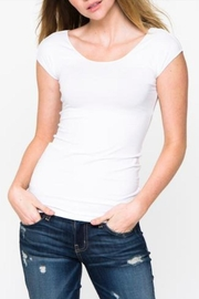 Downeast Basics Wonder Tee White - Product Mini Image