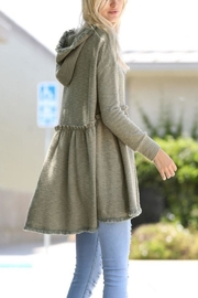 Wonderland Hooded Hi-Low Tunic - Other