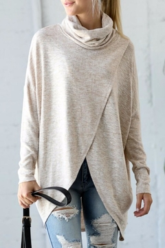 Shoptiques Product: Oatmeal Crossover Cowl