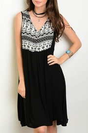 wonderlust LA Black Relaxed Dress - Product Mini Image