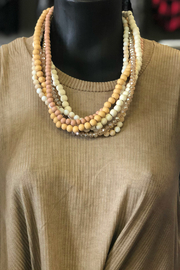 Gift Craft wood Ally Necklace - Front cropped