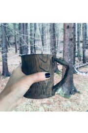 B.C.C. Wood Grain Mug - Product Mini Image