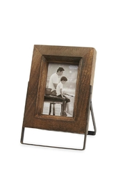 Mud Pie Wood/metal Easel Frame-Small - Front cropped