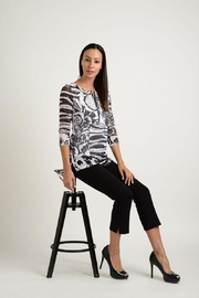 Lynn Ritchie Woodblock Mesh Tunic - Product Mini Image