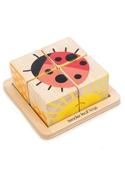 Tender Leaf Toys Wooden Baby Blocks - Front cropped
