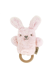 O.B. Designs Wooden Baby Teether - Betsy Blush Bunny - Product Mini Image