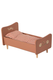 Maileg Wooden Bed - Teddy Mom Rose - Product Mini Image