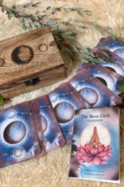 Abundance Box Wooden Box of Moon Oracle Cards - Product Mini Image