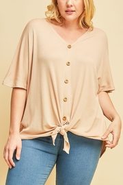 Lyn-Maree's  Wooden Button Top - Product Mini Image