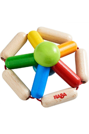 Haba Wooden Clutching Toy Color Carousel - Product Mini Image