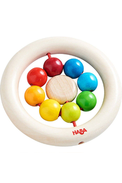 Haba Wooden Clutching Toy Rainbow Balls - Product List Image