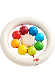 Haba Wooden Clutching Toy Rainbow Balls - Product Mini Image