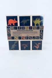 Uncle Goose Wooden Dinosaur Blocks - Front cropped