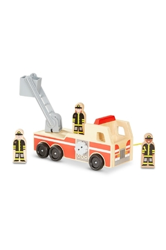 Melissa & Doug Wooden Fire Truck - Alternate List Image