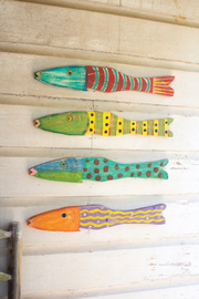 Kalalou WOODEN FISH - Product Mini Image