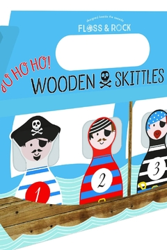 FLOSS & ROCK Wooden Pirate Skittles - Product List Image