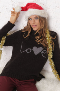 Wooden Ships Love Turtleneck Sweater - Product List Image