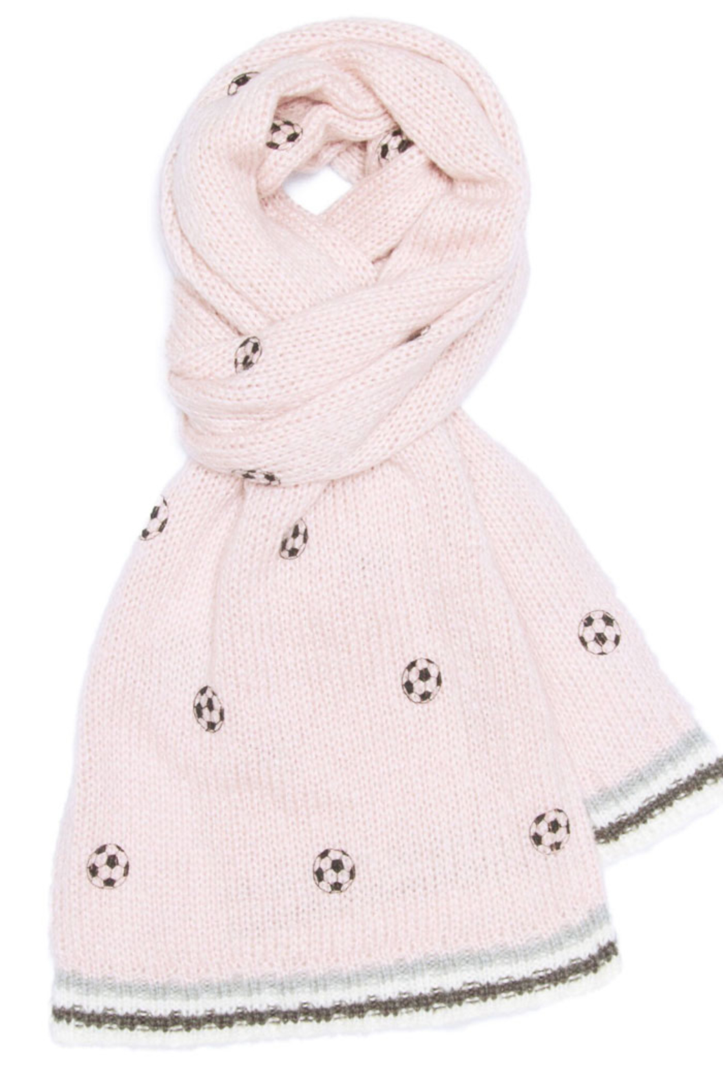 Wooden Ships Mini Soccer Ball Scarf - Back Cropped Image