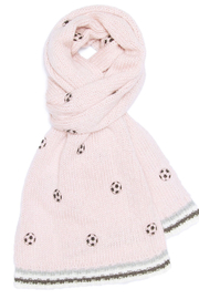 Wooden Ships Mini Soccer Ball Scarf - Back cropped