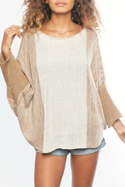 Wooden Ships Ombre Ruana - Front cropped