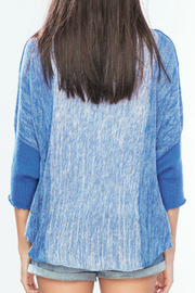 Wooden Ships Ombre Ruana - Back cropped