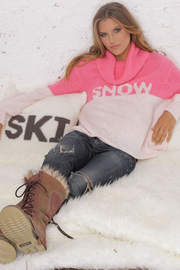 Wooden Ships Snow Cowlneck Sweater - Product Mini Image