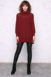 Wooden Ships Tristan T-Neck - Front cropped