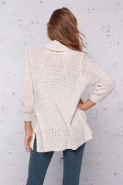Wooden Ships Tristan T-Neck - Back cropped