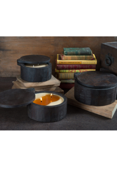 Himalayan Trading Post Wooden Spice Pot Candle- SUNLIGHT - Alternate List Image