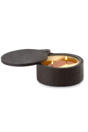 Himalayan Trading Post Wooden Spice Pot Candle- SUNLIGHT - Product Mini Image