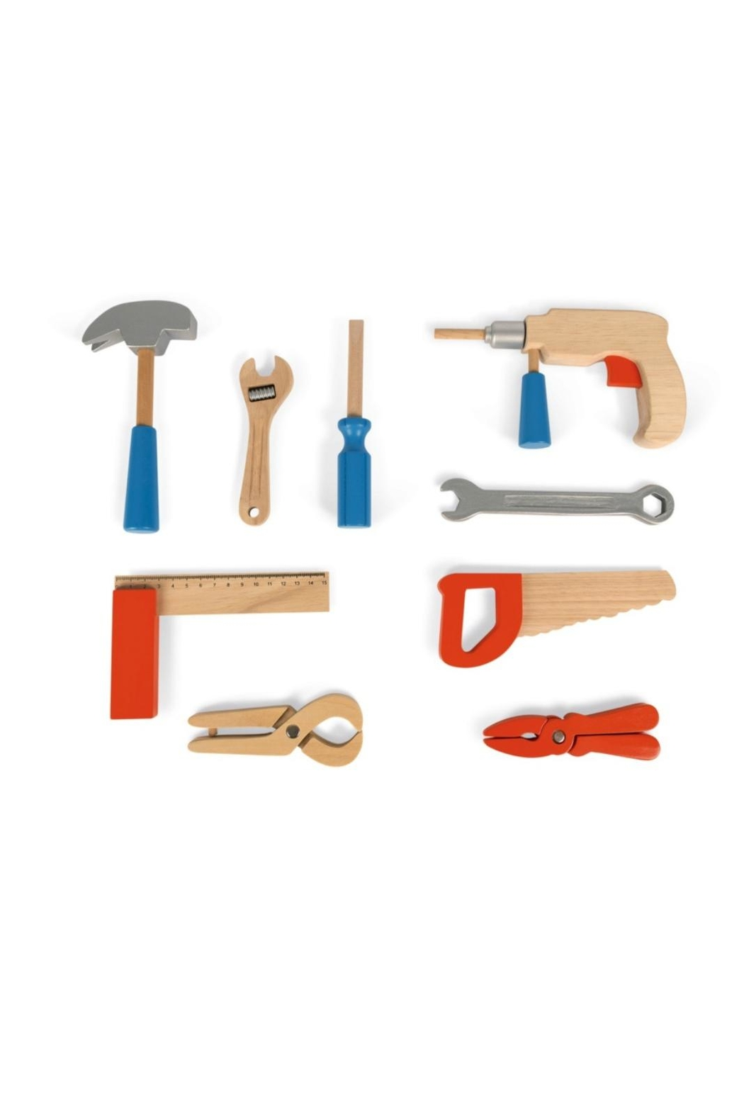 Janod Wooden Tool Kit - Side Cropped Image