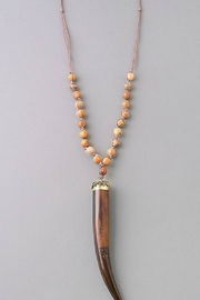 Imagine That Wooden Tusk Necklace - Product Mini Image
