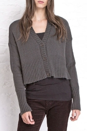 Wooden Ships 3 Button Cardigan - Front full body