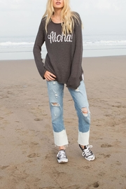 Wooden Ships Aloha Crewneck Sweater - Product Mini Image