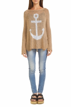 Wooden Ships Anchor Raglan Sweater - Product List Image