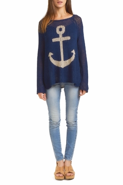 Shoptiques Product: Anchor Raglan Sweater
