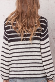 Wooden Ships Ashley Striped Crewneck - Side cropped