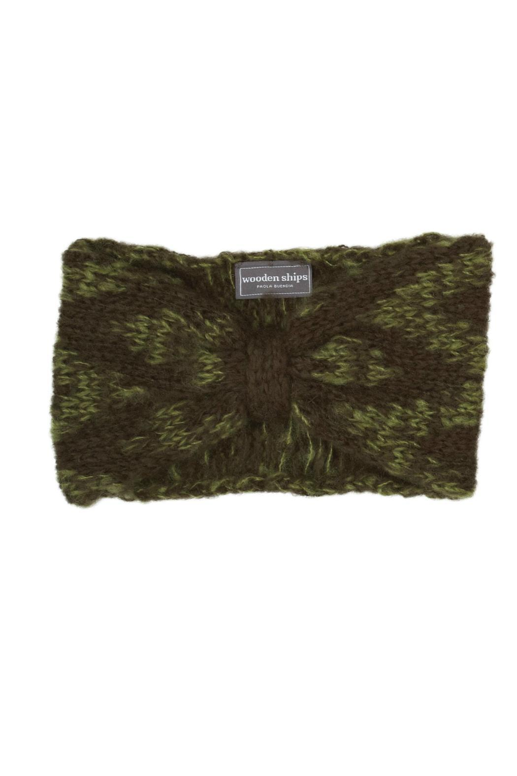 Wooden Ships Aubrey Hand-Knit Headscarf - Front Cropped Image