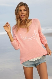 Wooden Ships Beach Sweater - Front full body