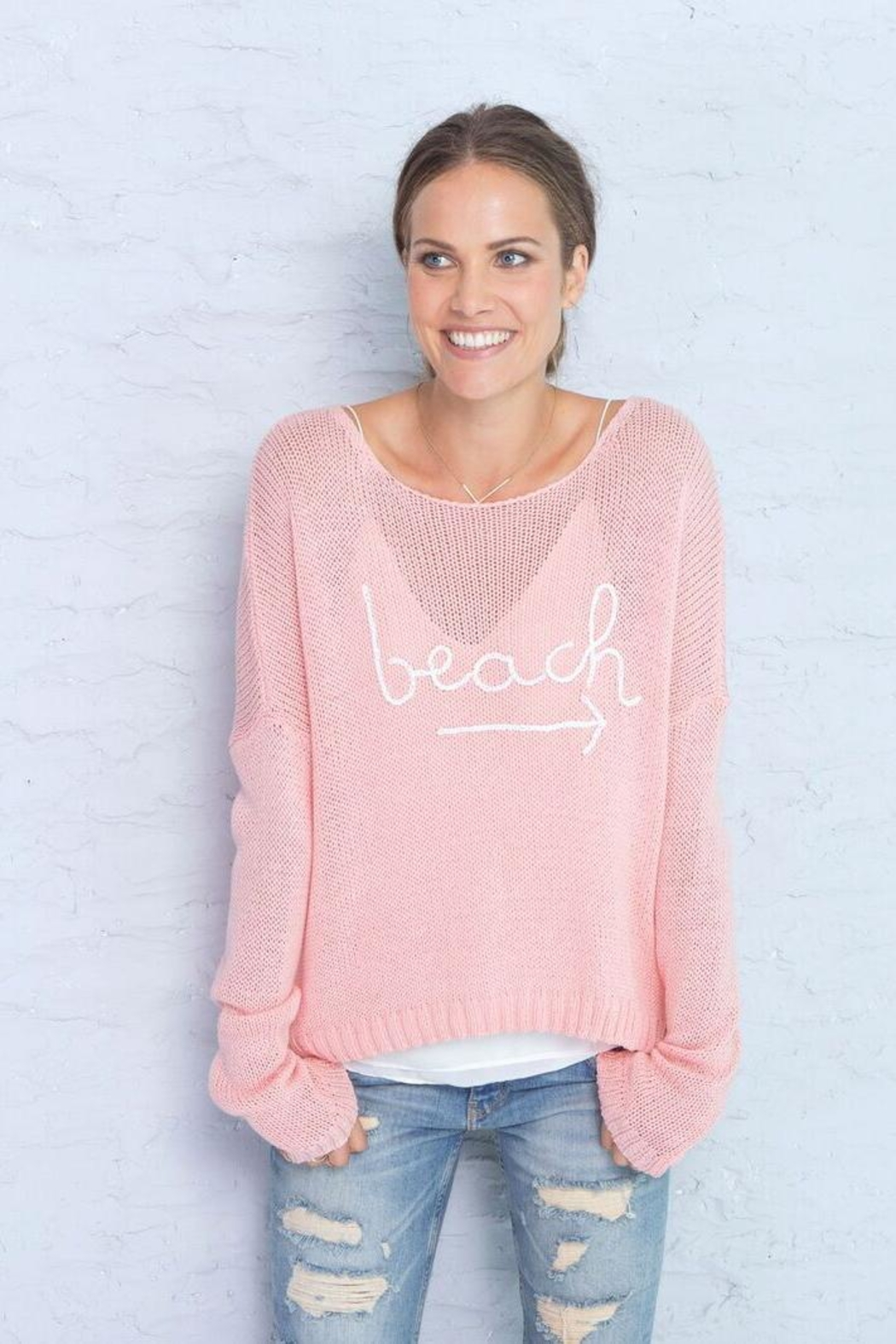 Wooden Ships Beach Sweater - Main Image