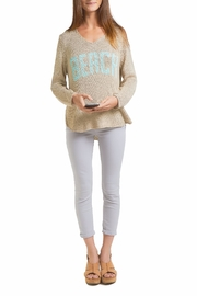 Wooden Ships Beach Sweater Top - Front cropped