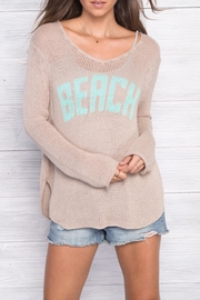 Wooden Ships Beach V Neck - Front cropped